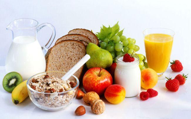 рацион питания для здорового человека меню