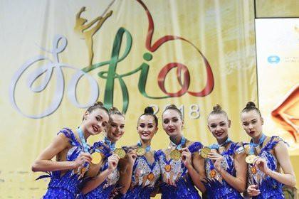 Россияне выиграли золото ЧМ по художественной гимнастике в многоборье