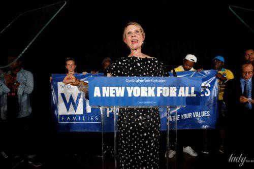 Синтия Никсон не стала губернатором Нью-Йорка