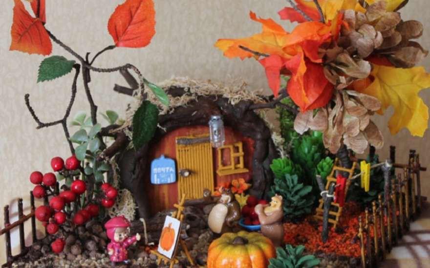 Осенние поделки из бумаги для детского сада своими руками все новинки фото 481