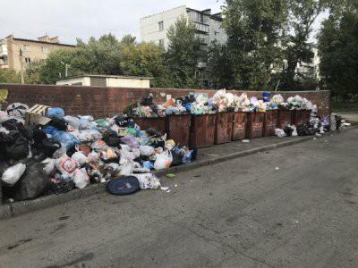 В Челябинске введен режим ЧС из-за проблемы с вывозом мусора