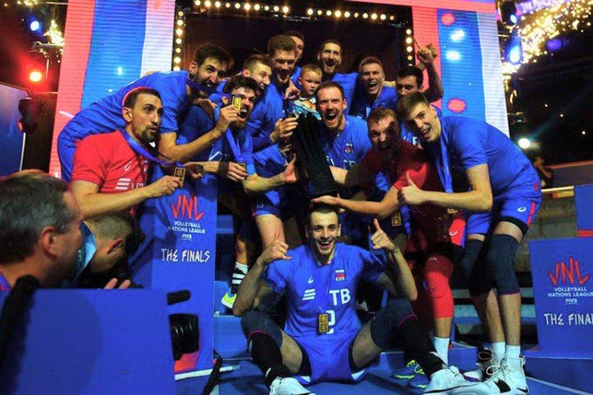 Мужская сборная России по волейболу установила новый рекорд чемпионатов мира