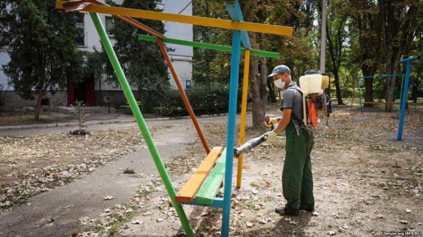 В Крыму введён режим ЧС из-за экологической катастрофы
