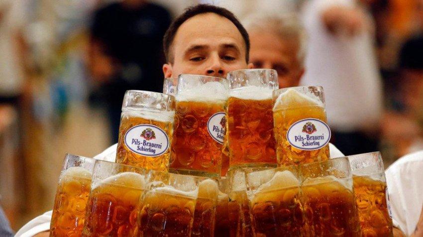 Стартовал самый большой пивной фестиваль в мире - «Октоберфест»