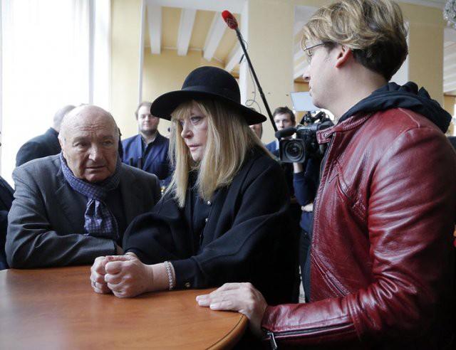 На похоронах Карцева Пугачева рассказала о болезни Жванецкого