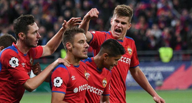 Победа московского ЦСКА над мадридским «Реалом» обогатила букмекеров