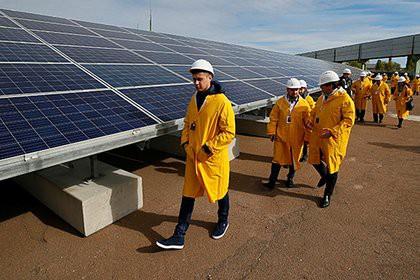 В Чернобыле заработала солнечная электростанция