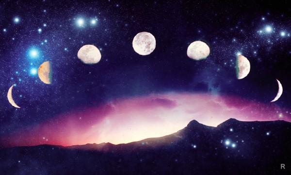 Луна в октябре 2018 года будет находиться в разных фазах