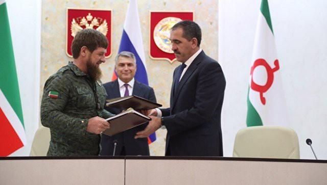 Евкуров назвал цель соглашения о границе Ингушетии и Чечни