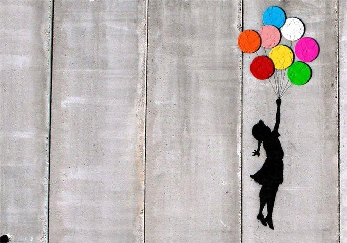 Девочка с воздушным шариком Бэнкси стала сенсацией лондонского аукциона