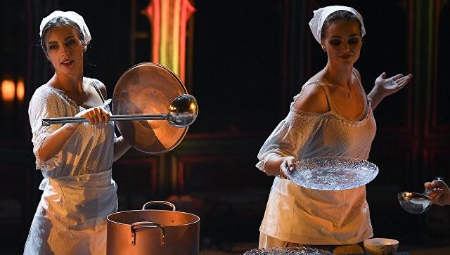 В Вероне, несмотря на непогоду, состоялось ледовое шоу Ильи Авербуха