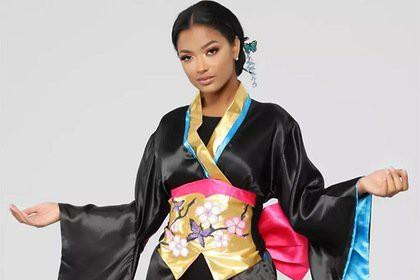Костюм «сексуальной гейши» вызвал недоумение покупателей