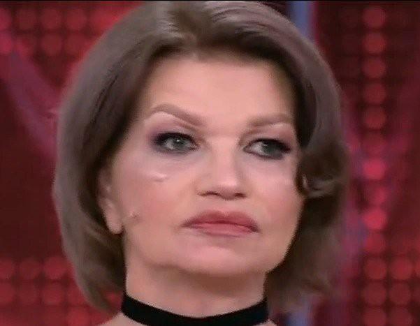 Жена Гогена Солнцева впервые вышла в свет после пластической операции
