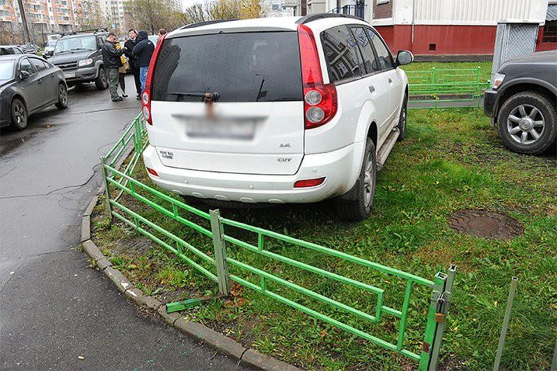 Сколько раз можно штрафовать за парковку на одном месте