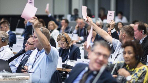 Выступление представителя Украины в ПАСЕ назвали «клоунадой»