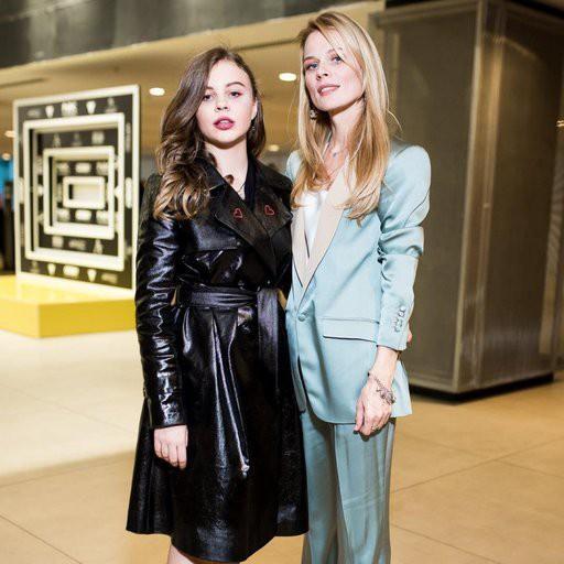 Дочь Ольги Фреймут презентовала свою первую коллекцию на Неделе моды