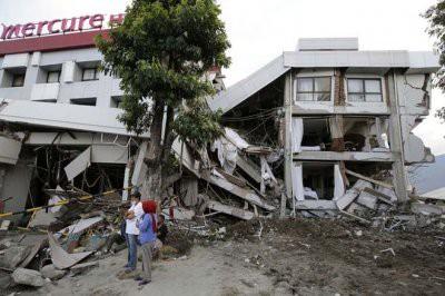 Три человека погибли в Индонезии в результате землетрясения
