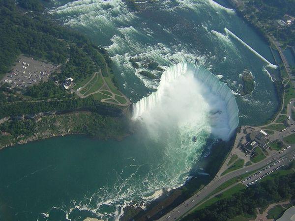 Ниагарский водопад - сила и мощь, которая покоряет
