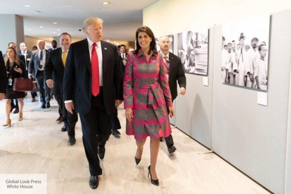 Для повышения рейтинга Трампу нужна женщина в ООН – Белый дом