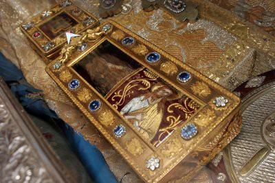 Мощи Иоанна Крестителя доставили в Краснодар