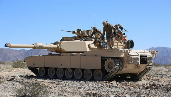 В Сети появилась видеозапись гибели танка M1A2S Abrams