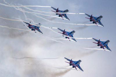 В Казани 27 октября состоится выступления пилотажной группы «Стрижи»