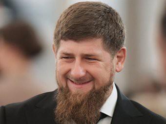 Рамзан Кадыров с сыном Абдуллахом