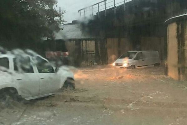 Наводнение в Туапсе — обзор 26.10.2018
