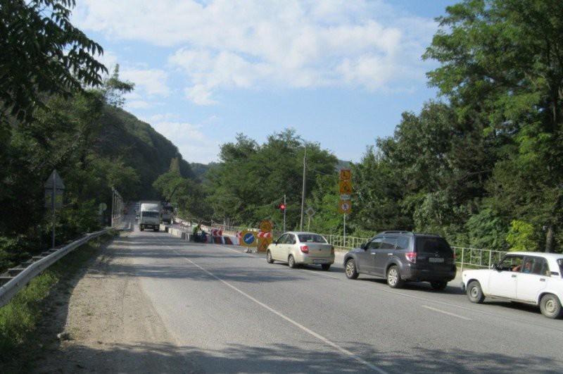 Восстановили движение на федеральной трассе Джубга — Сочи
