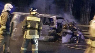 В Петербурге при столкновении грузовика с микроавтобусом погибли шесть человек