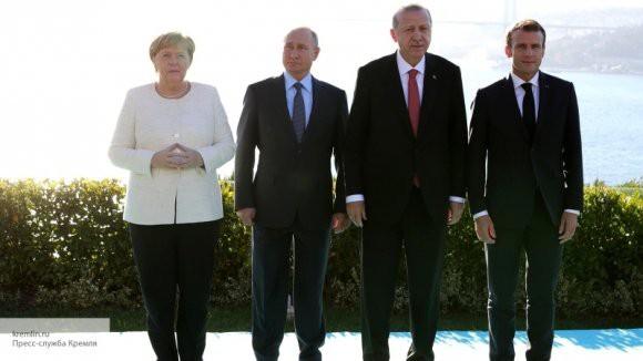 Путин: Россия, Франция, ФРГ и Турция приняли решение по урегулированию ситуации в Сирии