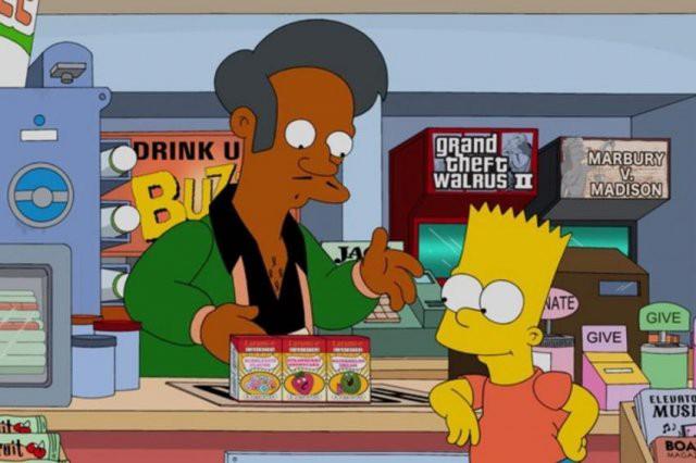 """В """"Симпсонах"""" могут убрать Апу из-за обвинений в расизме"""