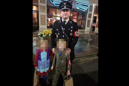 Американец нарядил сына в костюм Гитлера и пожаловался на травлю