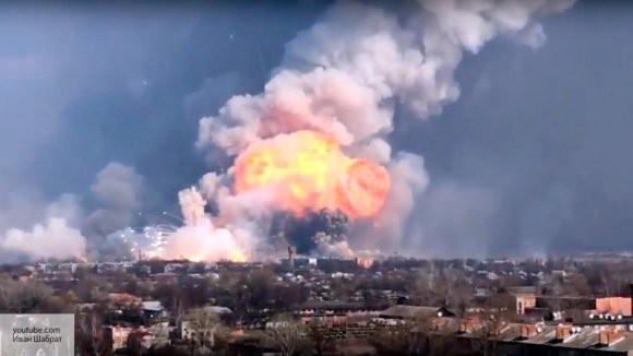 В украинском МВД призвали к проведению диверсий на военных складах в России
