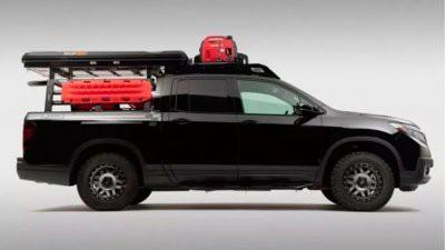 Honda Ridgeline превратится в пикап для экспедиций