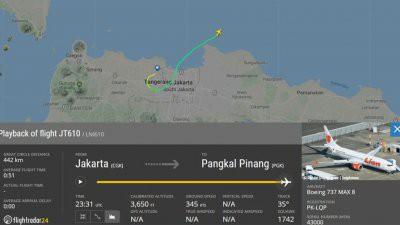 В Индонезии потерпел крушение пассажирский Boeing 737