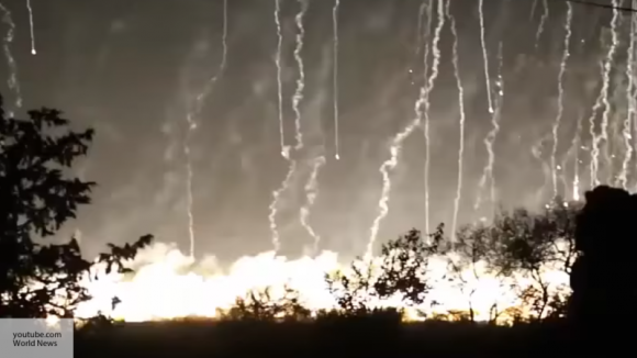 Коалиция нанесла удар по Дейр-эз-Зор боеприпасами с белым фосфором