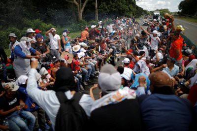 США планируют отправить более пяти тысяч военных на границу с Мексикой