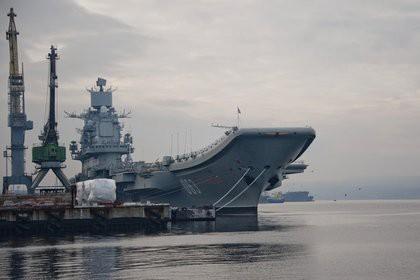 Крупнейший в мире плавучий док затонул во время ремонта «Адмирала Кузнецова»
