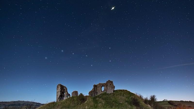 В небе над Великобританией взорвался метеорит