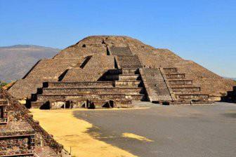 Под мексиканской пирамидой Луны нашли вход в «загробный мир»