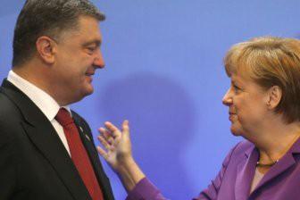 Меркель едет к Порошенко: Заговор «хромых уток» против России