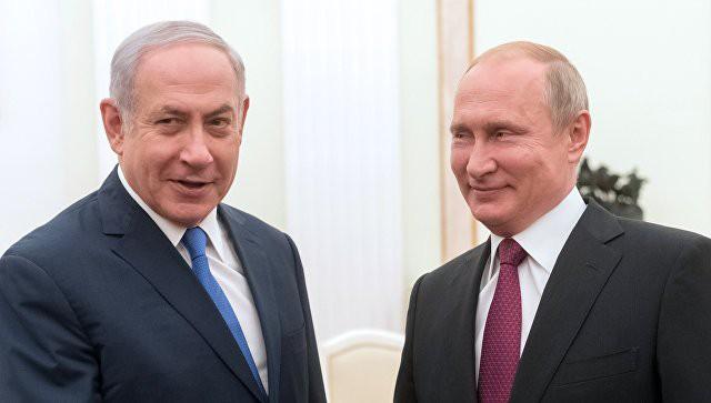 В Кремле прокомментировали возможность встречи Путина с Нетаньяху в Париже