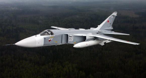 Экипажи Су-24М установили новый рекорд по расходу боеприпасов