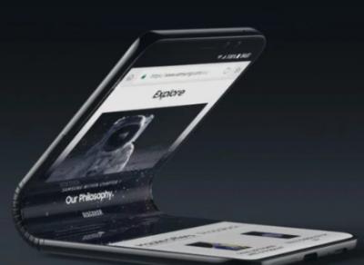 Первый гибкий смартфон Samsung получит экран Infinity-V Display