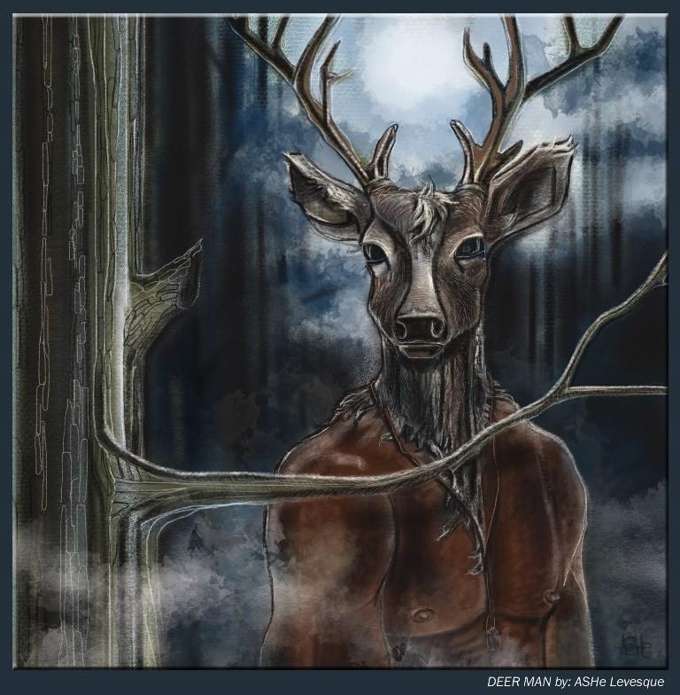 Человек-олень в штате Вирджиния