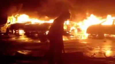 В Италии более ста автомобилей Maserati и Fiat сгорели при пожаре в порту