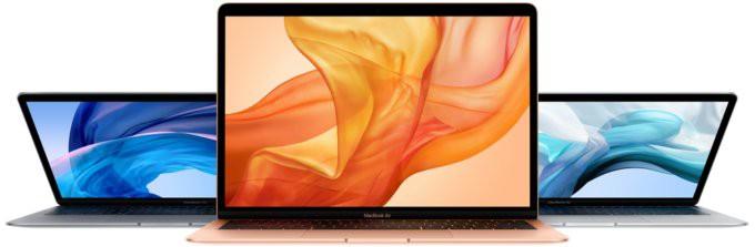 Характеристики нового MacBook Air
