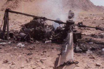 В Афганистане разбился вертолёт с 25 человеками на борту