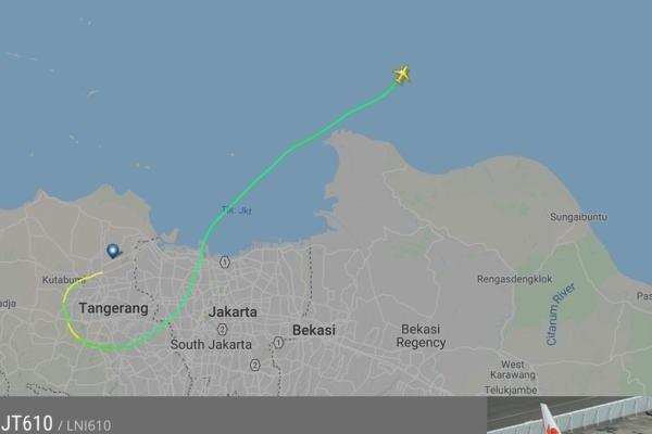 Крушение самолета упал Boeing 737 авиакомпании Lion Air